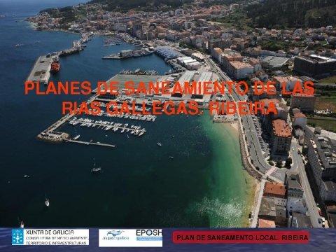 Presentación, Ribeira. - Xornada sobre a Lei 9/2010, do 4 de novembro, de Augas de Galicia